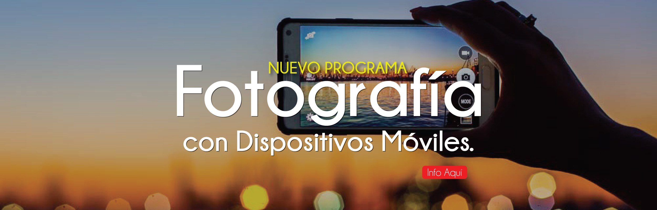 Curso de Fotografía con Dispositivos Moviles